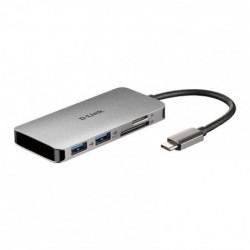 Hub USB D-Link DUB-M610/ 2...