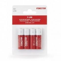 Pack de 4 Pilas AA Fonestar...