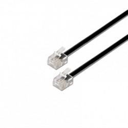Cable de Teléfono RJ11 6P4C...