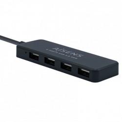 Hub USB Aisens A104-0402/ 4...